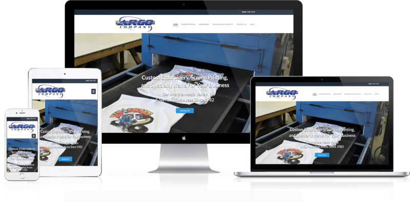 Argo Company Website Design