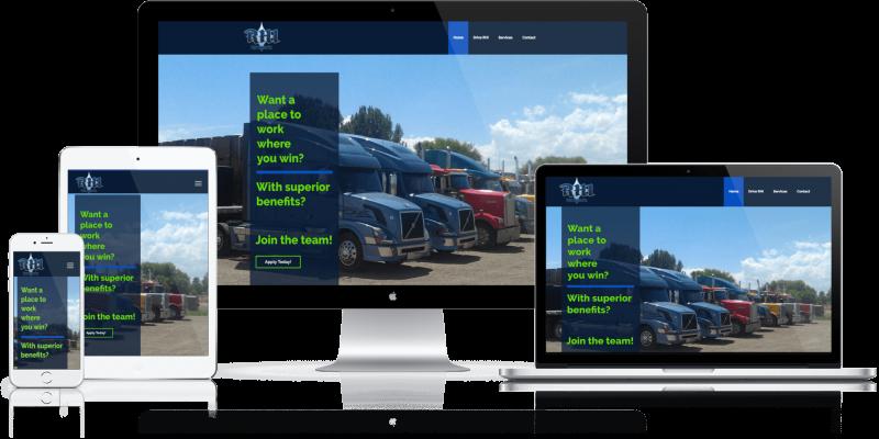 Ryan Hinton Inc Website Design