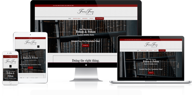 Felton and Felton Website Design Twin Falls ID