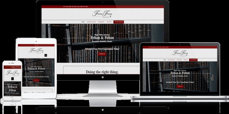 Felton and Felton Website Design Twin Falls ID