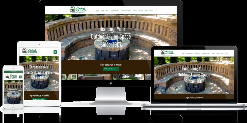 Kimberly Nurseries Website Design