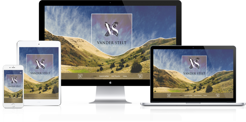 Vander Stelt Realty Group Website Design