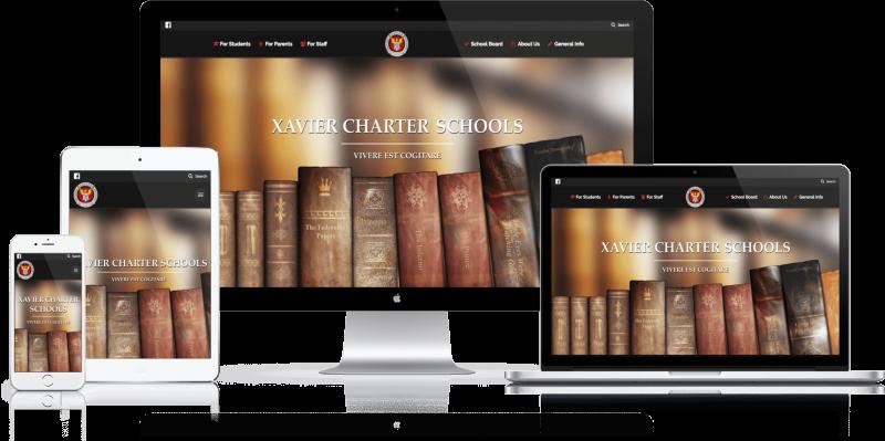 Xavier Charter School Website Design
