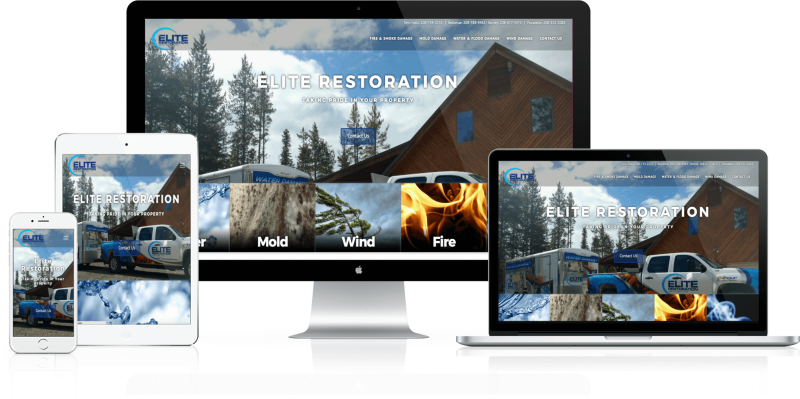 Elite Restoration Web Design